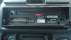 Clarion Head Unit without Face Plate
