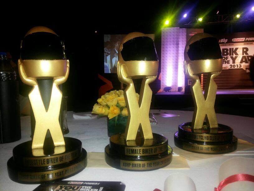 The Bikerni shine on!!! Biker of the Year Awards 2013