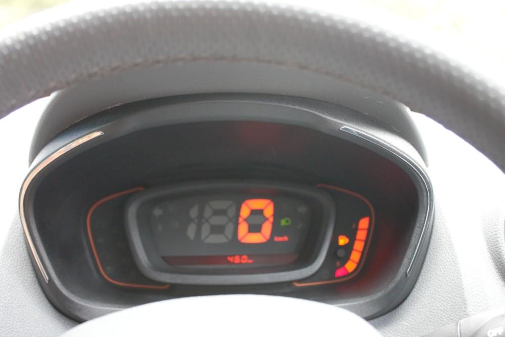 Kwid - Digital Meter Console, missing Tacho