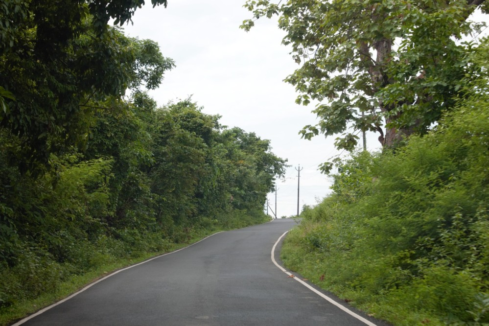 Open Winding Roads of Goa