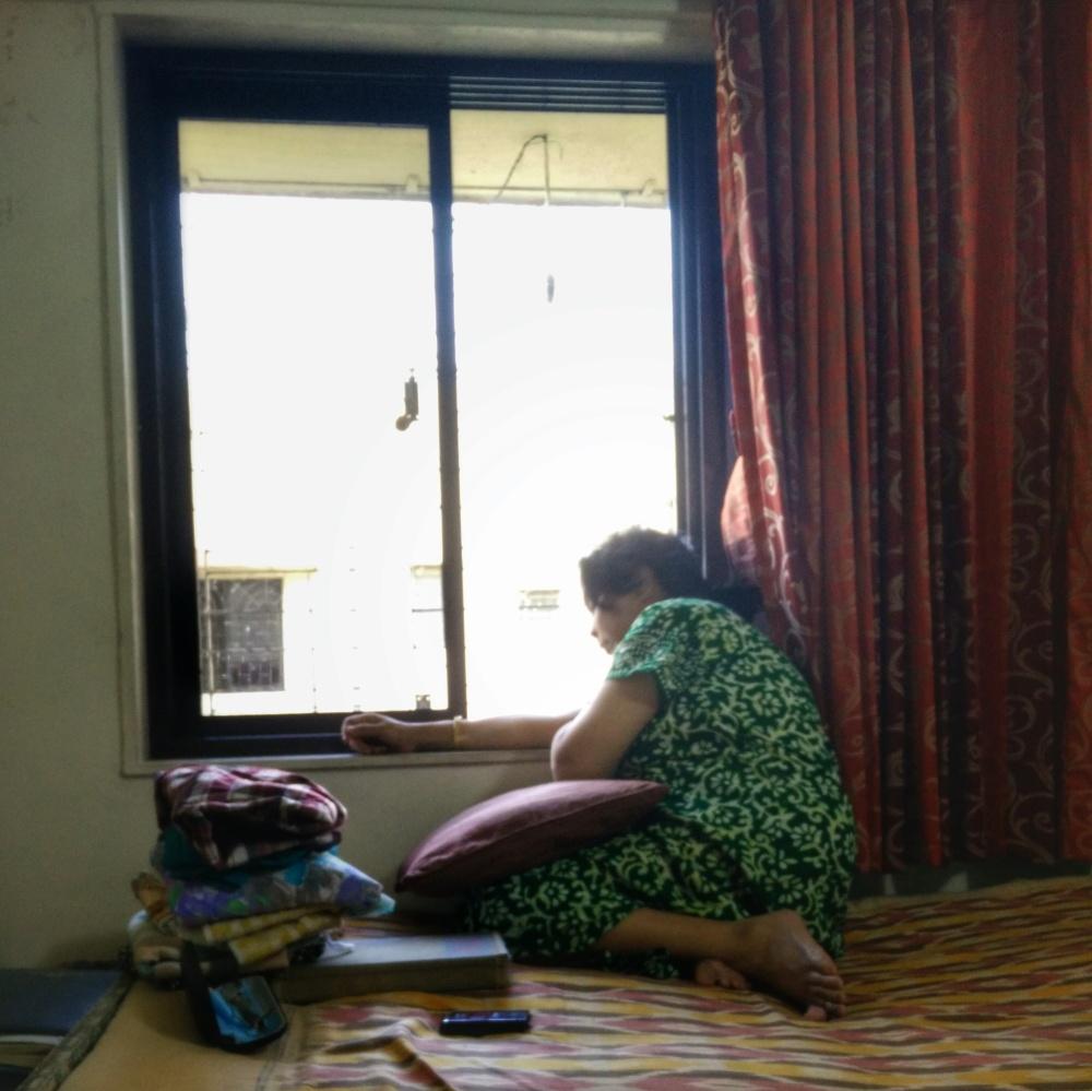 Amma in the Window