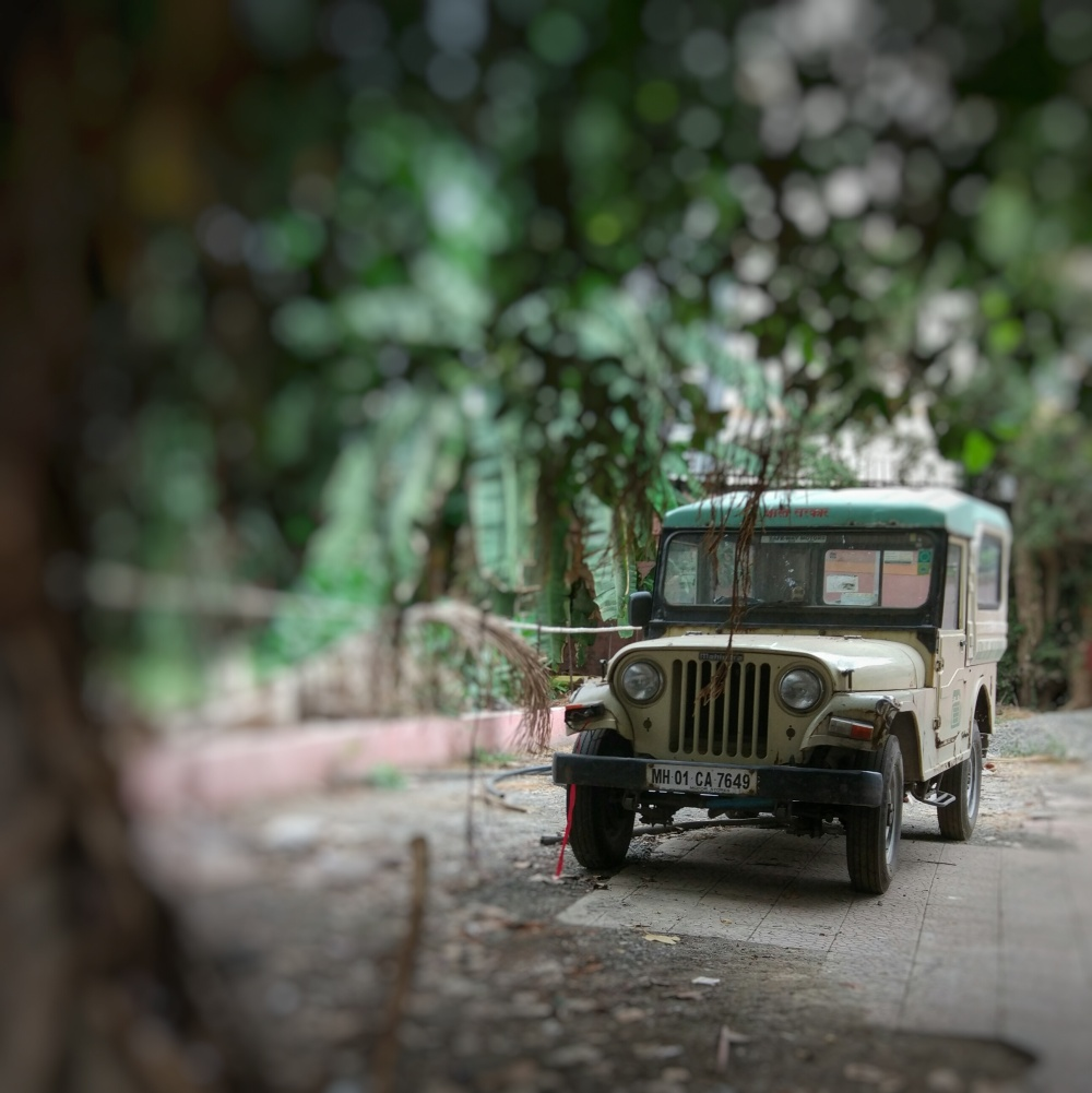 Rusting Jeep
