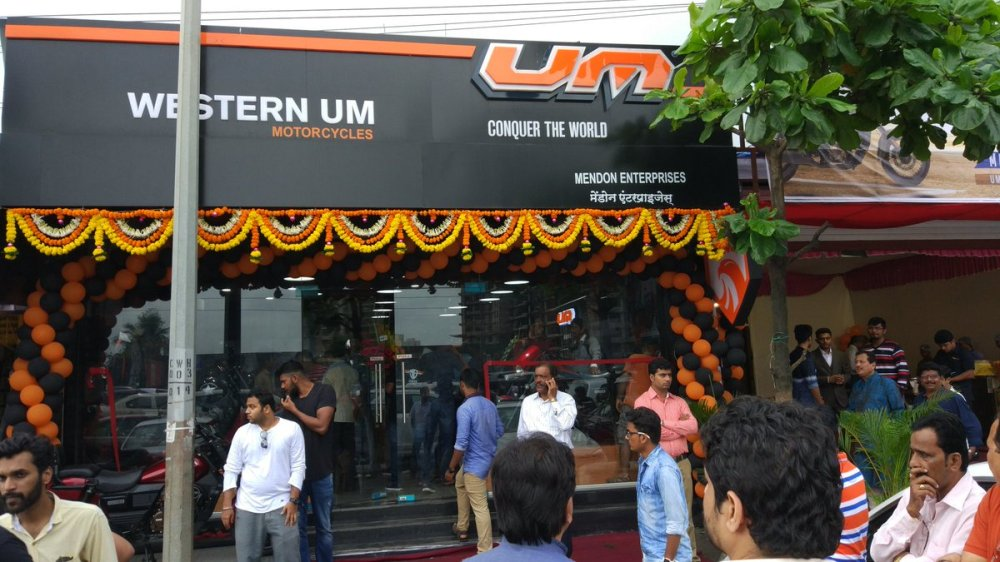 UM Motorcycles Borivali Launch 1