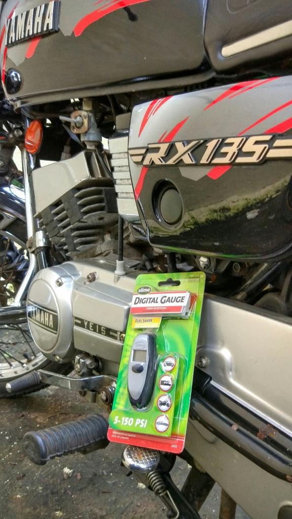 Slime Digital Tyre Pressure Gauge