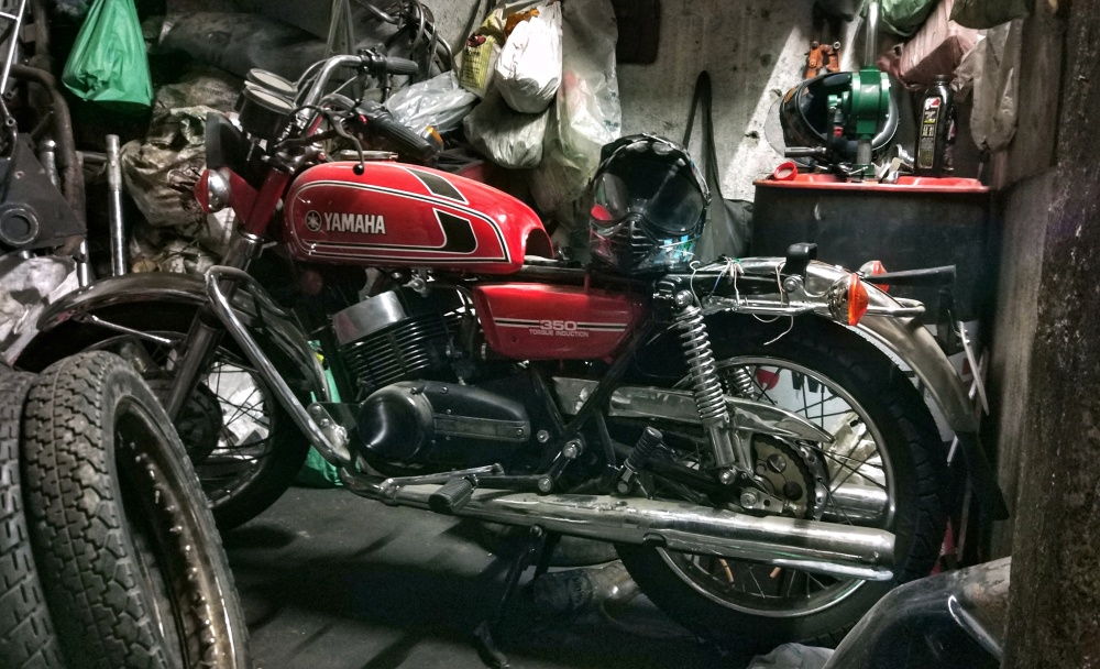Another RD350 being resurrected