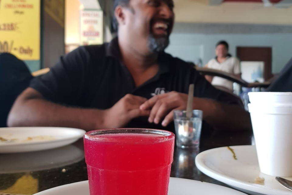 Ditching the Chai, this one time. Because, Raspberry Jelly :D Image: @crabby226