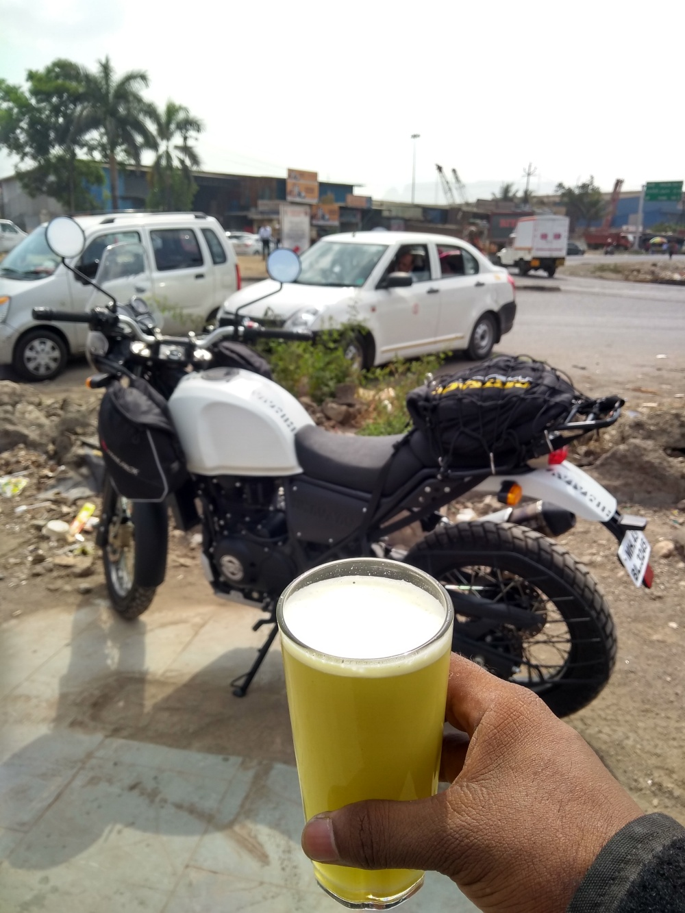 1st PitStop with the 2018 Royal Enfield Himalayan